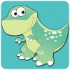 Dinosaurs free kid edu puzzle game