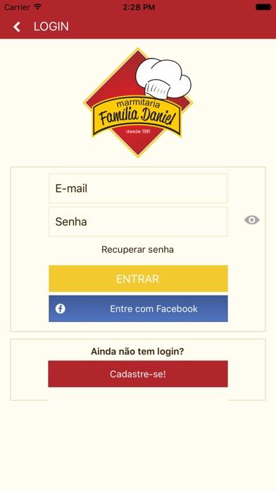 Restaurante Família Daniel screenshot