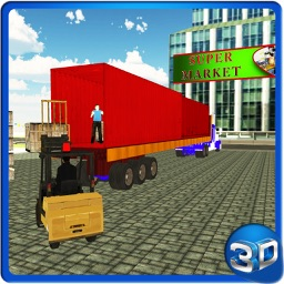 Supermarket Transporter Truck & Driving Simulator