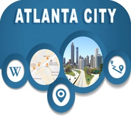 Atlanta City Georgia USA Offline Map Navigation