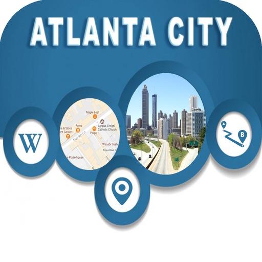 Atlanta City Georgia USA Offline Map Navigation