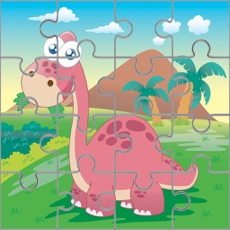 Activities of Dinosaur Jigsaw Puzzle Kids 7 to 2 years Old Games