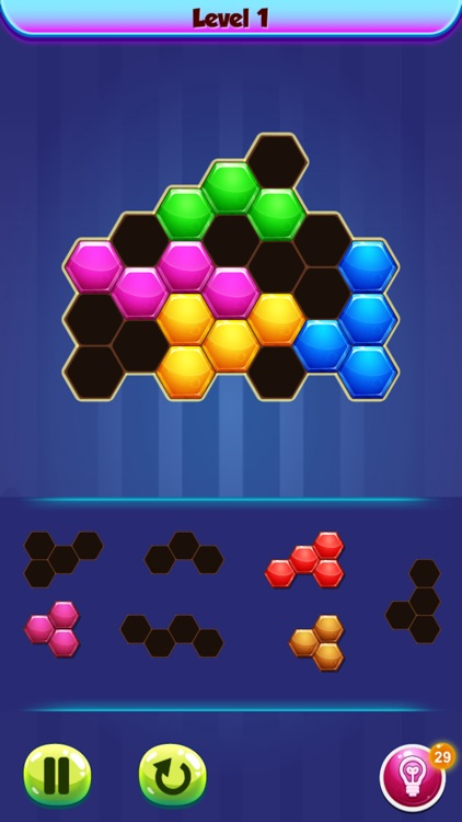 Hexa Blast! Block Puzzle Game screenshot-3