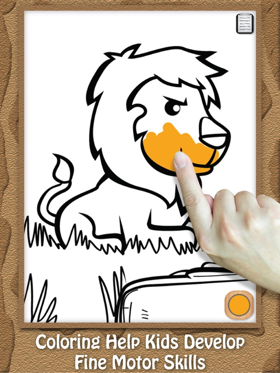 Paint & Play for Kids: Animal Kingdom Doodle, Drawing and Coloring Pages screenshot