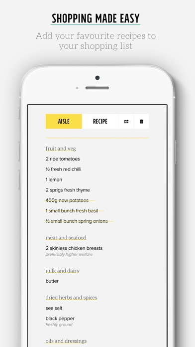 Screenshot for Jamie's Ultimate Recipes in Denmark App Store