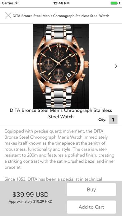 Watch Shop by 5mina:  Buy Luxury, Discount Watches screenshot four