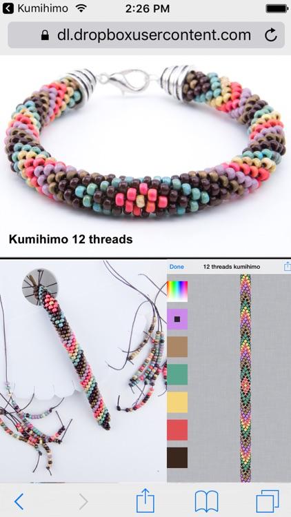 Kumihimo bead designer screenshot-3