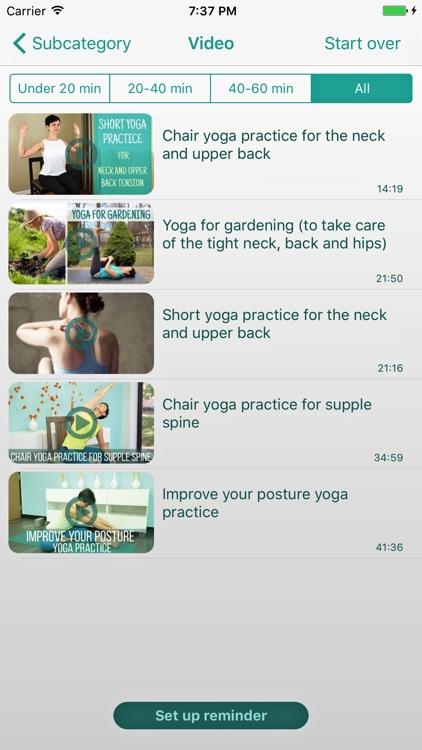Home yoga practice screenshot-3