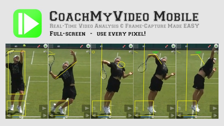 CMV: Slow Frame-Frame Video Analysis CoachMyVideo screenshot-3