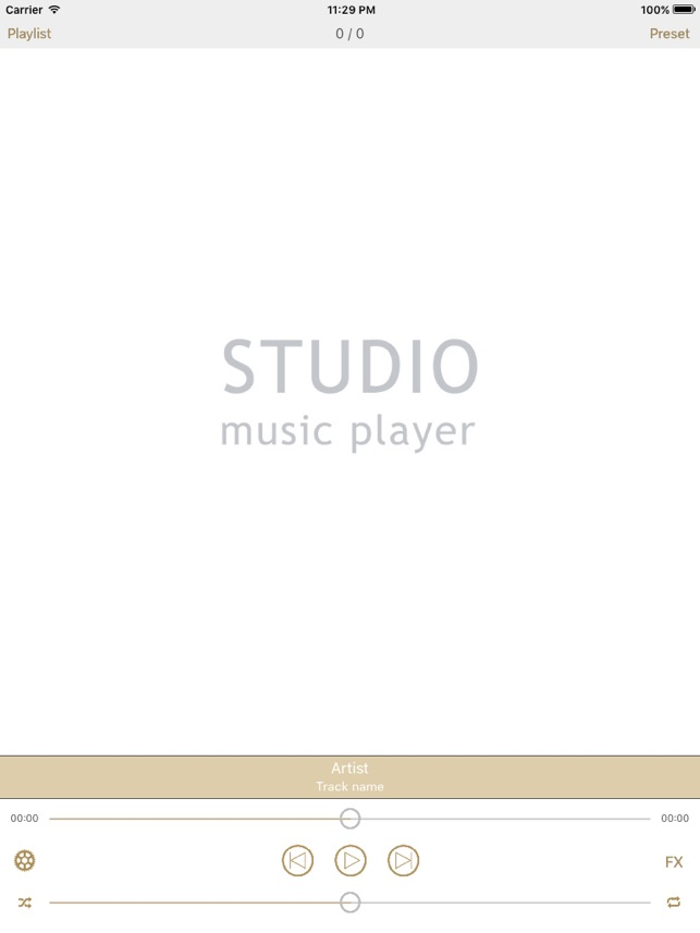 Studio Music Player | 48 bands equalizer for pro's Screenshot