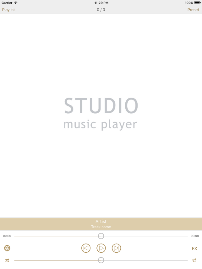 ‎Studio Music Player | 48 bands equalizer for pro's Screenshot