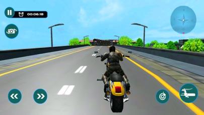 猛烈な都市バイク ライダー-レースのシミュレーターのゲームのおすすめ画像1
