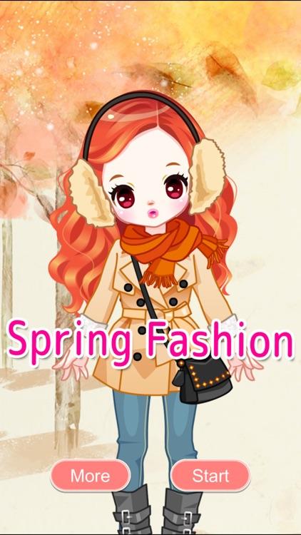 Spring Fashion Girl Dressup Salon