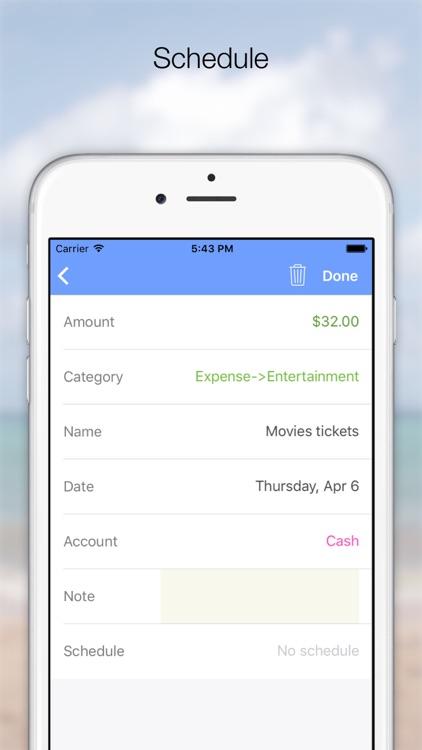 DailyDebit - Calendar screenshot-4