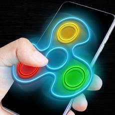 Activities of Fidget spinner neon glow