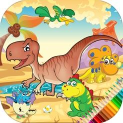 çocuklar Için Dinazor Boyama Kitabı Oyunu App Storeda