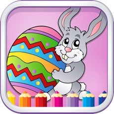 Activities of Coloring Games For Kids Easter - Finger Paint