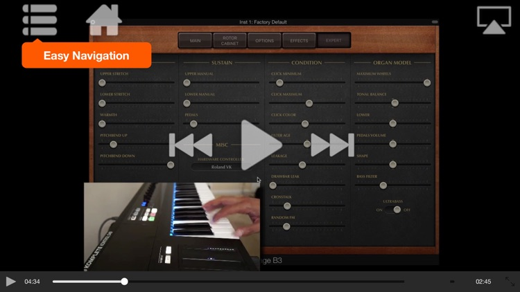 FastTrack™ For Logic Vintage B3 Organ screenshot-3