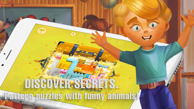 A Parcel of Courage book for kids with puzzles screenshot-4