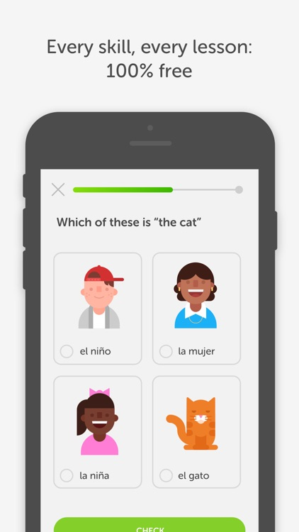 Duolingo - Learn Spanish, French and more app image
