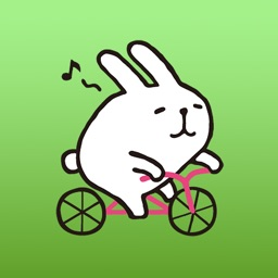 Marshmallow Bunny Japanese Sticker 1
