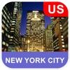 ニューヨーク市、アメリカ合衆国 オフラインマッフ - PLACE STARS