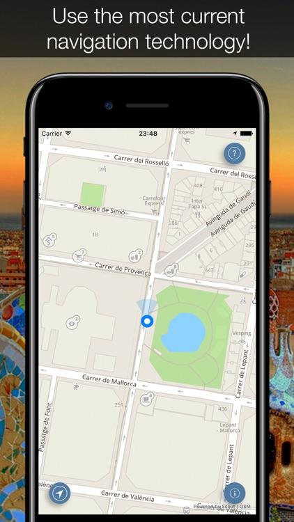 Spain 2017 — offline map and navigation! screenshot-4