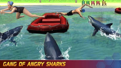 Angry Shark Evolution: Deadly Jaws Attack