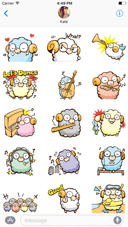 Freaky The Lamb Stickers screenshot-3