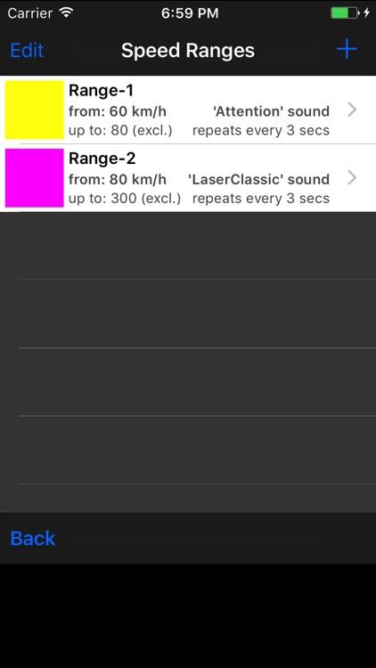 AudibleSpeed (GPS Speed Monitor) - Express Edition screenshot-3