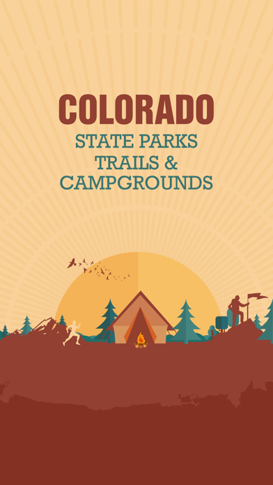 Colorado State Parks, Trails & Campgrounds screenshot one
