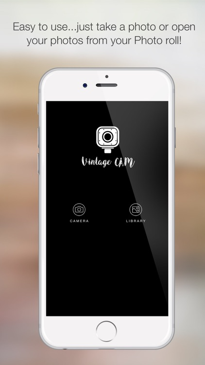 VintageCam - Make Vintage your Photos cool filters