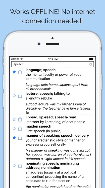 English Thesaurus & Synonyms Dictionary OFFLINE by Takoomi Ltd
