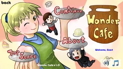 Wonder Cafe Lite screenshot one