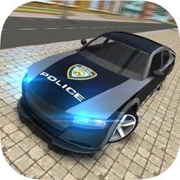 High-Speed Police Car Chase Criminal Pursuit Sim