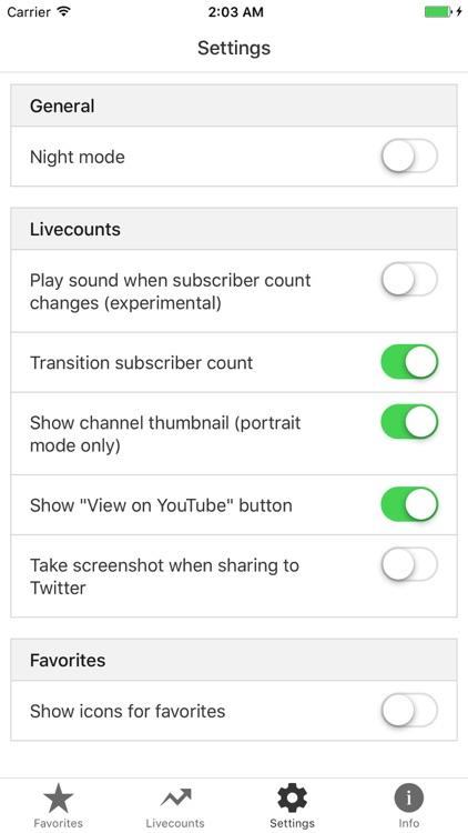 Livecounts - Live Subscriber Count screenshot-4
