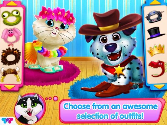 Скачать игру Kitty & Puppy: Love Story