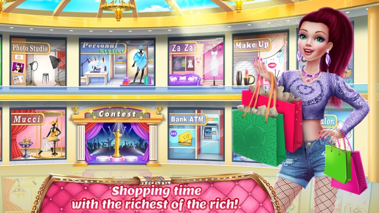 Rich Girl Mall - Dress Up, Shopping & Fashion screenshot-4
