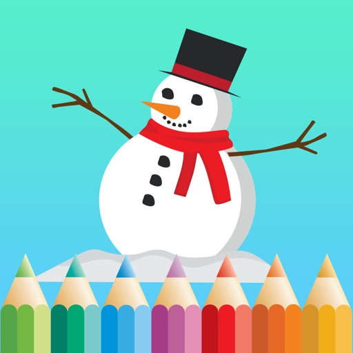 Christmas, Holiday Coloring Book for Kids