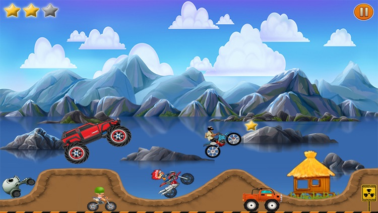 Car Hill Climb : Top Rider Racing ( 2 to 4 Stages) screenshot-4