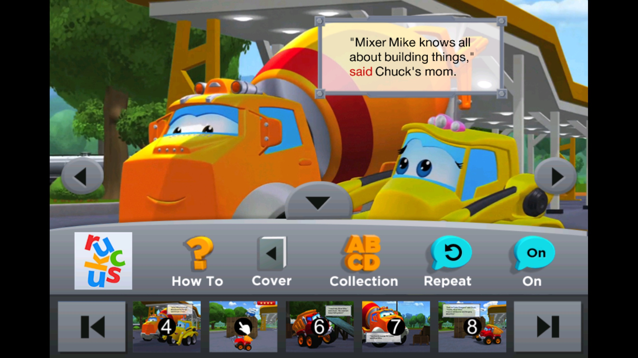 Chuck & Friends: Fort Chuck Screenshot