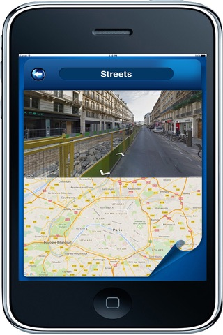 Paris France - Offline Maps navigator - náhled
