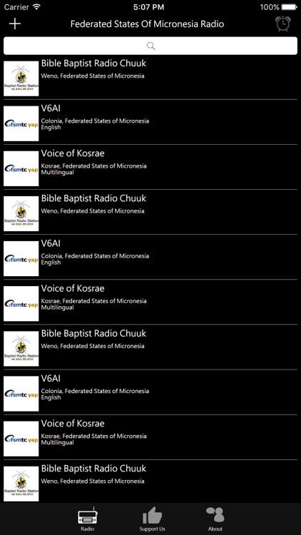 Federated States Of Micronesia Radio