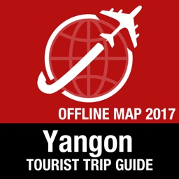 Yangon Tourist Guide + Offline Map