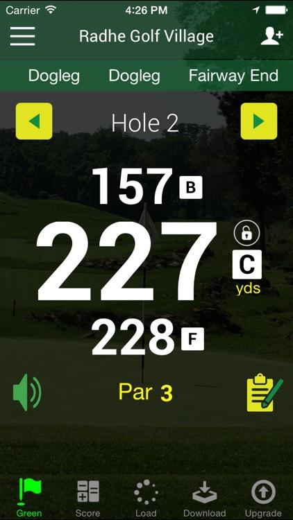 Golf GPS Rangefinder Audio Edition - FreeCaddie