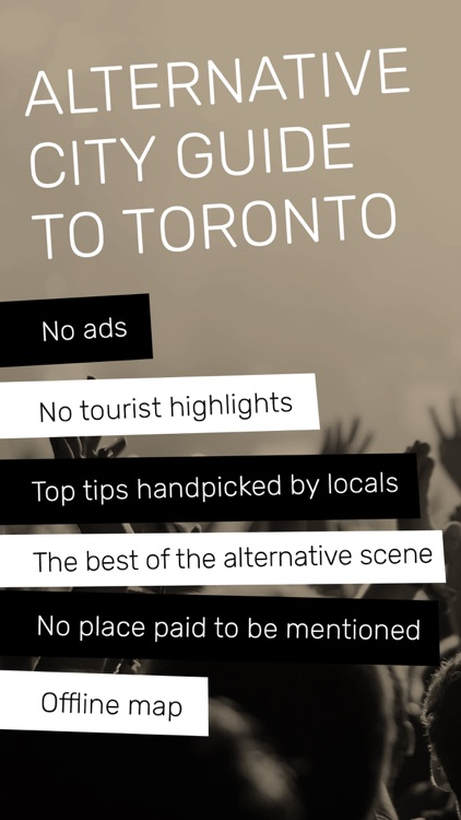 Indie Guides Toronto screenshot-0