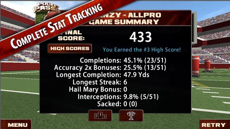Pocket Passer QB : American Football Sports Game screenshot-4