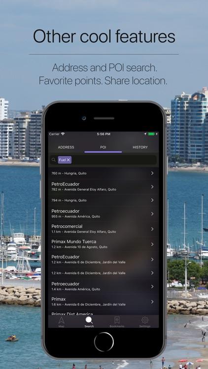 Ecuador Offline Navigation screenshot-4