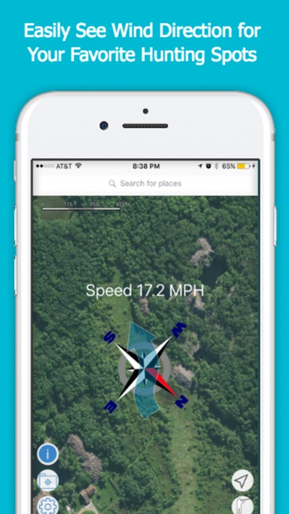 Duck Hunting Wind Finder - Weather App