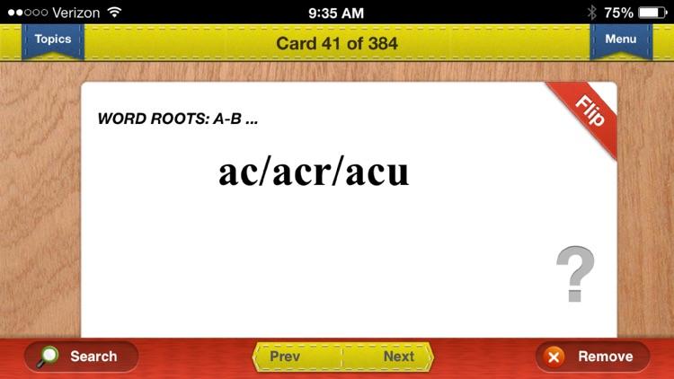 MCAT Prep Verbal Flashcards Vocabulary Exambusters